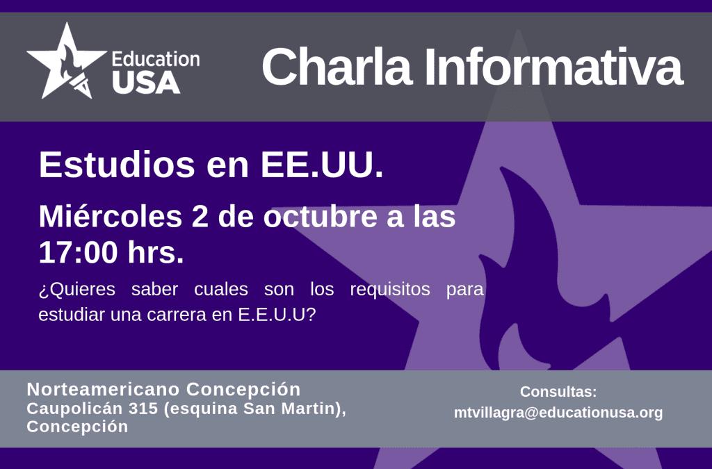 Concepción: Estudios en EE.UU.