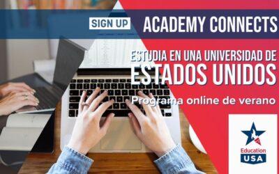 Academy Connects – Nuevo programa online de verano para jóvenes de 15 a 17 años